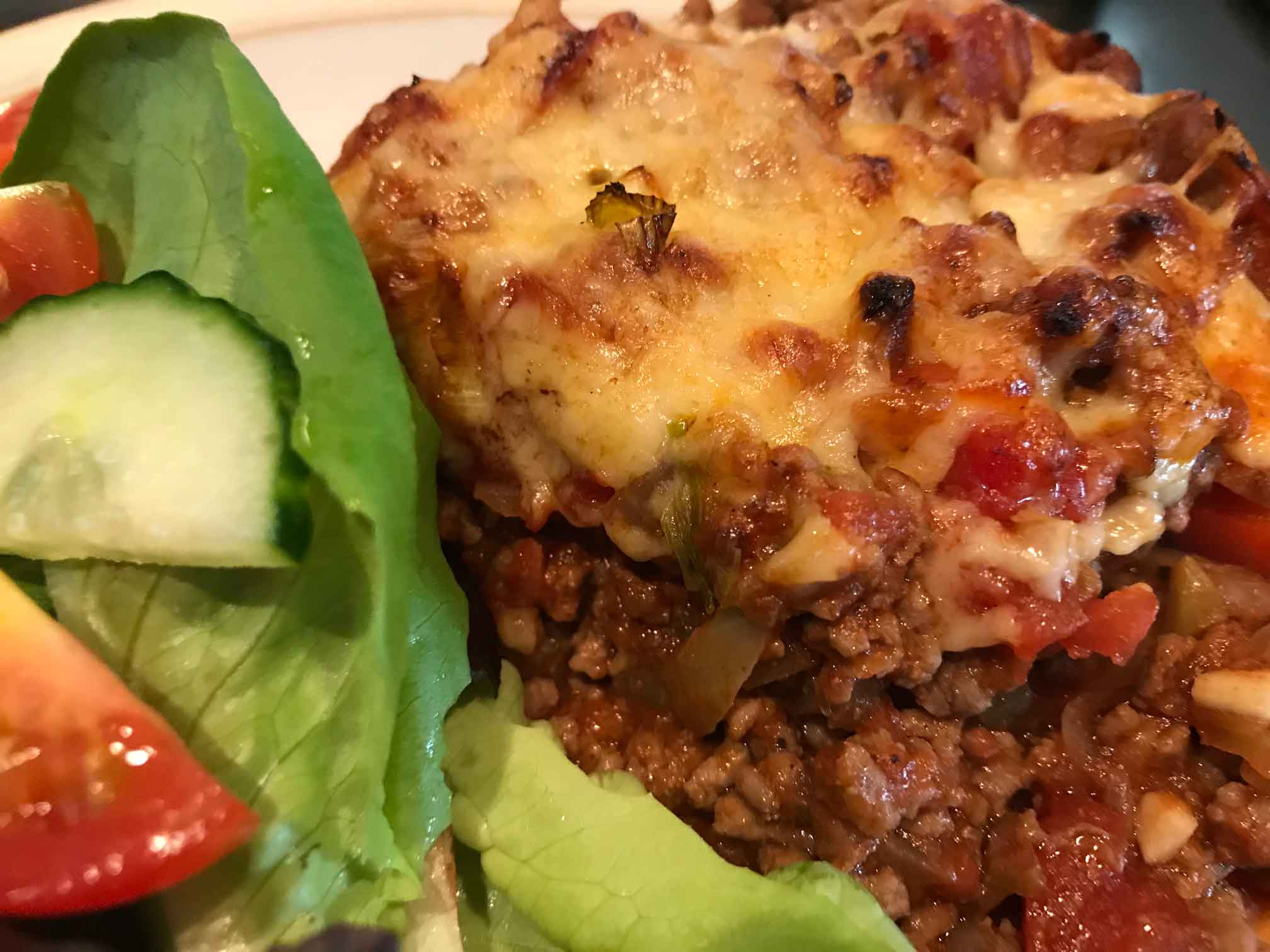 Chilli Mince Bake