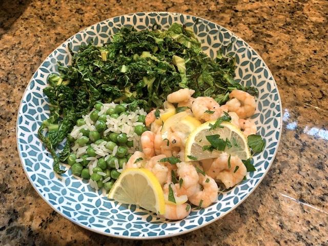 Garlic & Lemon Prawns
